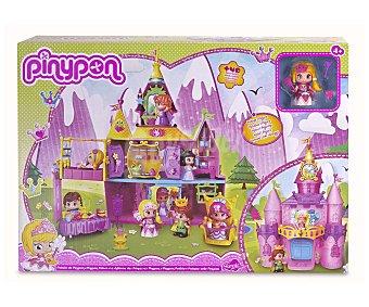 Pin y pon Palacio de príncipes y princesas con 1 figura y más de 40 accesorios 1unidad