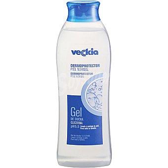 Veckia Gel de baño dermoprotector con glicerina pH 5.5 para piel normal Bote 750 ml