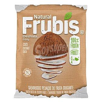 Frubis Snack de coco natural sin azúcar añadido doy G Pack 20