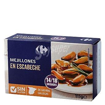 Carrefour Mejillón en escabeche 14/18 69 g