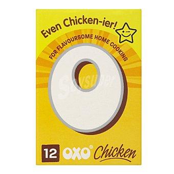 oxo Caldo pollo 12 pastillas 71 g