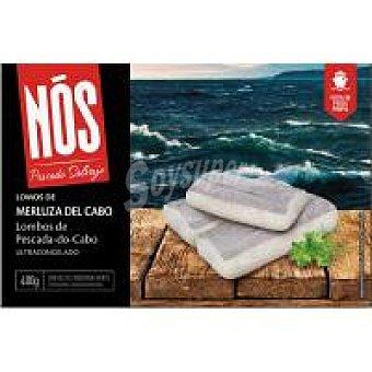 NOS Lomos de merluza del Cabo con piel 400 g