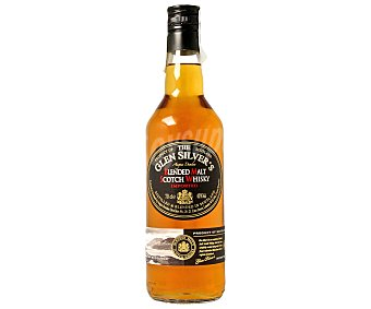 GLEN SILVERS Whisky single malt Botella de 70 centilitros