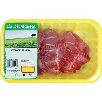 LA MONTAÑERA Carrillada de cerdo blanco Bandeja 500 g peso aprox