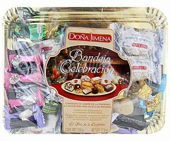 Doña Jimena Surtido de dulces navideños 500 gramos