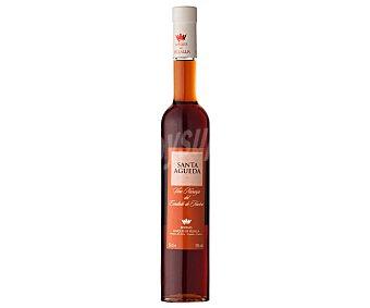 SANTA AGUEDA Vino blanco, sometido a maceración con cáscara de naranja amarga deshidratada con denominación de origen Condado de Huelva Botella de 75 centilitros