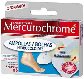 Mercurochrome Apósitos Ampollas Hidrocoloide Mercurochrome 1 ud