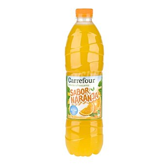 Carrefour Refresco de naranja Carrefour sin gas botella 1,5 l