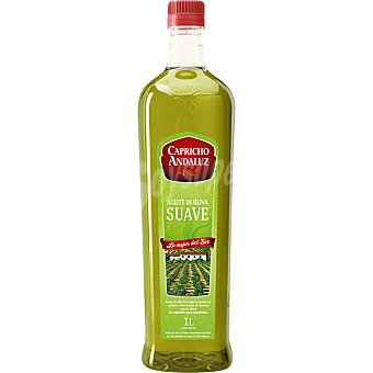 Capricho Andaluz Aceite de oliva suave Botella 1 lt