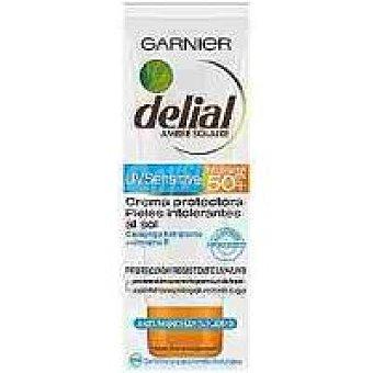 Delial Garnier Crema facial F50 piel sensible Caja 75 ml