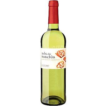 Ines de monclus Vino blanco chardonnay Gewürztraminer D.O. Somontano Botella 75 cl