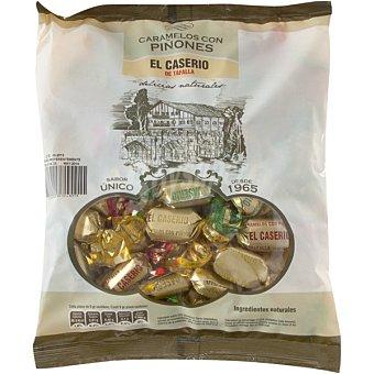 El Caserío Caramelos con piñones 500 g