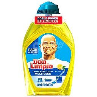 Don Limpio Limpiador concentrado limón Botella 400 ml