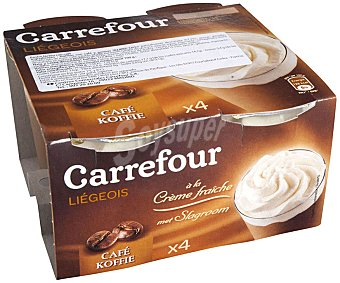 Carrefour Copa de café Pack 4x100 g