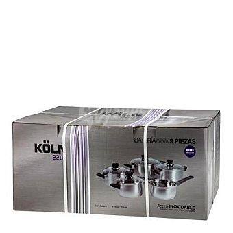 Batería 9 piezas mod Koln 2207 1 ud