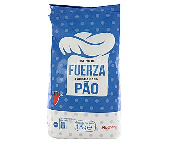 Auchan Harina de fuerza 1 kilogramo