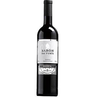Barón de Turis Vino tinto reserva de Valencia Botella 75 cl
