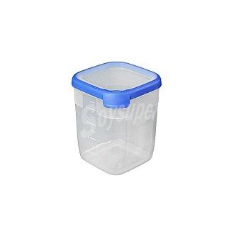 CURVER Grand Chef Hermetico Cuadrado de Plástico - Transparente 2,6 l.