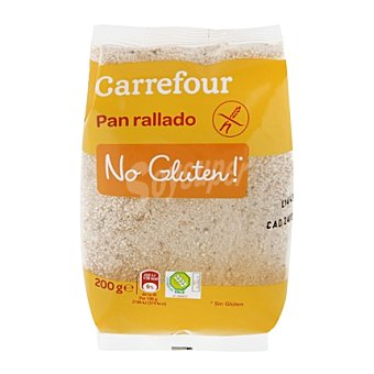 Carrefour-No gluten Pan rallado - Sin Gluten 200 g