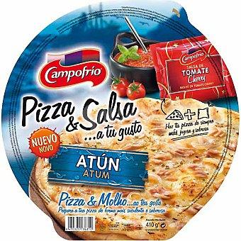 Campofrío Pizza de atún con salsa de tomate cherry Envase 365 g