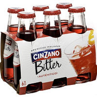 CINZANO Bitter + aceitunas 1unidad