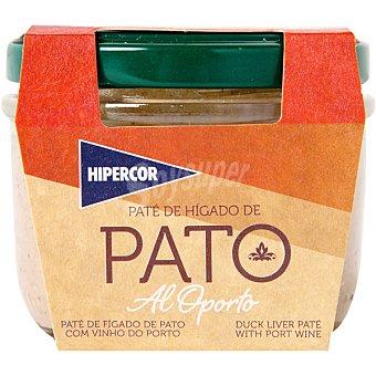 Hipercor Paté de hígado de pato al oporto tarrina 100 g Tarrina 100 g