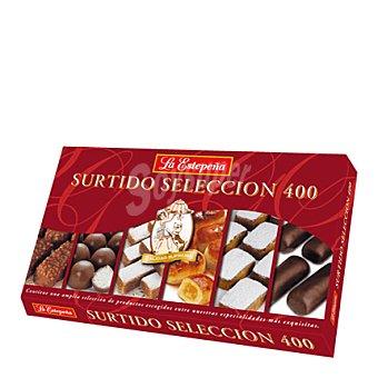La Estepeña Estuche selección de chocolate puro y mazapán 400 g