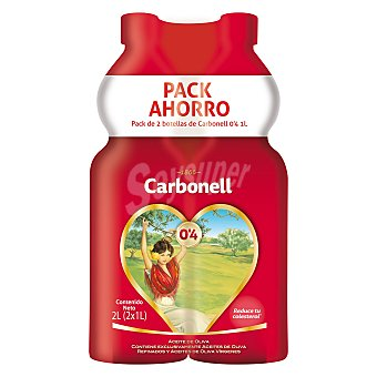 Carbonell Aceite de oliva 0,4 Pack 2 x 1 l