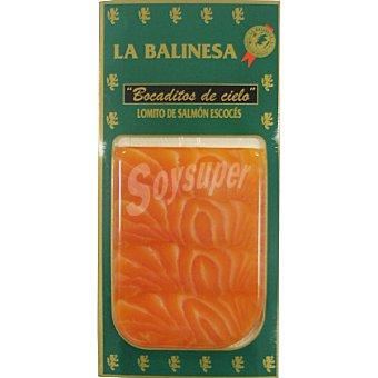 LA BALINESA Lomito de salmón ahumado escocés Envase 88 g
