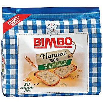 Bimbo Pan tostado multicereal Paquete 180 g
