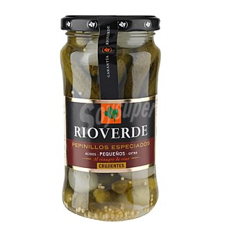 Rioverde Pepinillos ácidos en vinagre 180/200 180 g