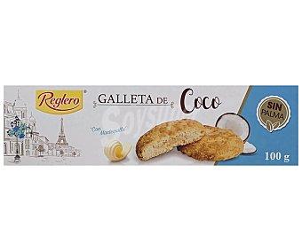 Reglero Galletas de mantequilla rellenas de coco 100 g