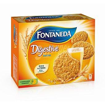 Fontaneda Galletas avena Digestive Caja 550 g
