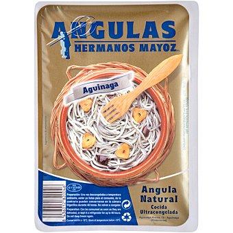 HERMANOS MAYOZ Angulas al natural cocidas bandeja 100 g neto escurrido