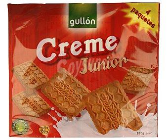 Gullón Galletas creme junior gullon 680 g