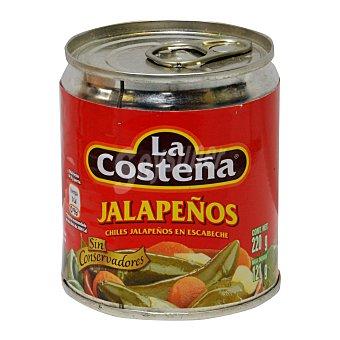 La Costeña Chiles jalapeños en escabeche Lata 125 g neto escurrido