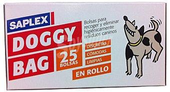 Saplex Bolsa animales doggybag Paquete 25 u