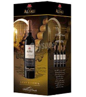 Viña Albali Estuche de vino tinto gran reserva D.O. Valepeñas pack de 4x75 cl