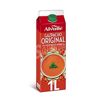 Alvalle Gazpacho receta original, elaborado con ingredientes naturales Brik 1 l