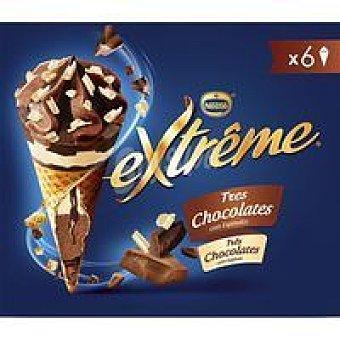 Cono 3 chocolates Caja 432 g