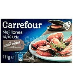 Carrefour Mejillón en salsa vieira 14/18 55 g