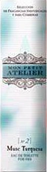 Mon Petit Atelier Eau toilette mujer musc turquesa vaporizador Botella 20 cc