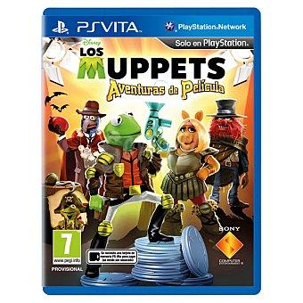 PS VITA Videojuego The Muppets Aventuras de película  1 unidad