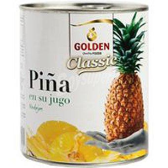 GOLDEN Piña en su jugo en rodajas Lata 490 g
