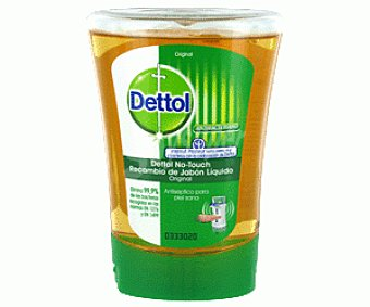 Dettol Jabón manos no touch recambio original 250ML