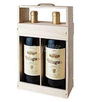 Muga Estuche 2 botellas vino D.O rioja crianza Pack de 2x75 cl