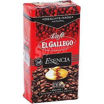 GALLEGO Café descafeinado natural molido Paquete 250 g