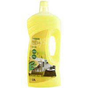 Eroski Limpiador multiusos limón 1,5l 1,5 l