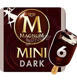 Magnum Helado mini dark negro 6 UNI 300 G