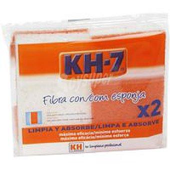 KH-7 Estropajos con esponja Pack 2 unid